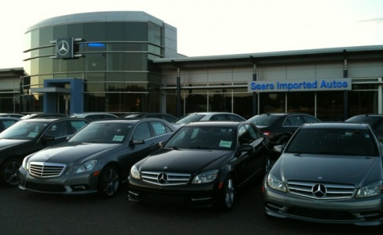 Sears imported autos mercedes benz allan mechanical for Minnesota mercedes benz dealers