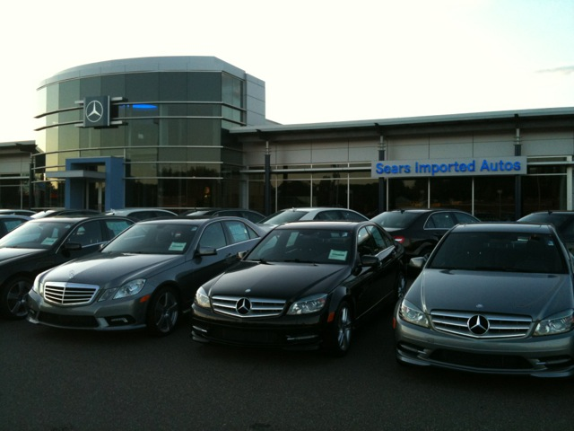 Sears imported autos mercedes benz allan mechanical for Mercedes benz house of imports service